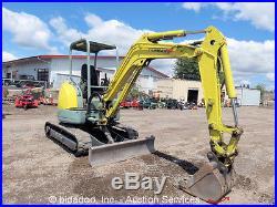 Yanmar ViO35-2 Hydraulic Mini Excavator Aux Diesel 22 Bucket 61 Dozer Blade