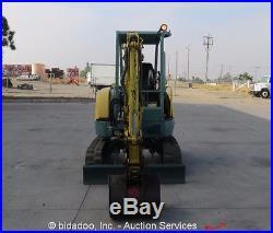 Yanmar Vio27-2 Mini Excavator Rubber Tracks Backhoe bidadoo