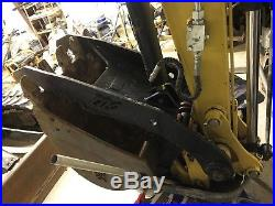 Yanmar Vio45-6a MIDI Excavator Rubber Track Hyd Full Cab Diesel Backhoe